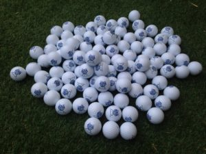 balle de golf - impression UV 01