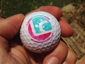balle de golf - impression UV 03