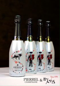 bouteille de champagne - impression UV 02