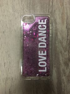 coque Love Dance pour un revendeur de produits de danse