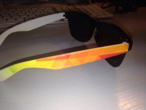 lunette branche - impression UV 01