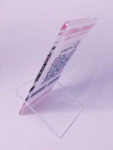 plexi présentoir - impression UV 03