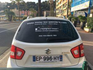 sticker lettrage pour voiture